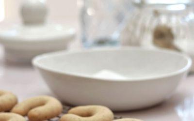 Pecan Horseshoe Biscuits